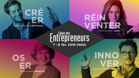 Salon des Entrepreneurs les 7 et 8 février 2018