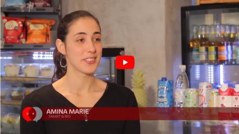 Amina Marie, porteur de projet, chef d'entreprise